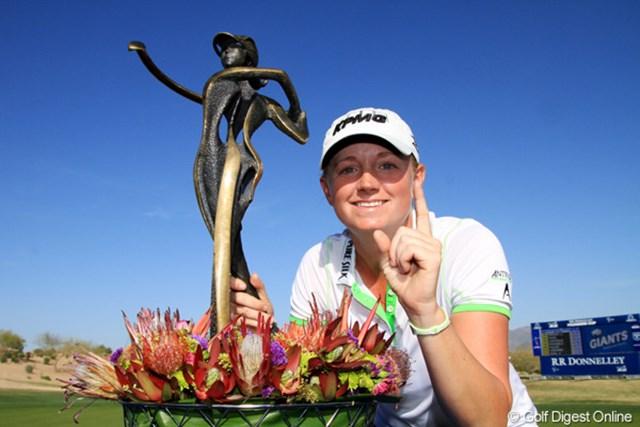 2013年 RRドネリー LPGA ファウンダーズカップ 最終日 ステーシー・ルイス 4打差を逆転し、2試合連続優勝を飾ったS.ルイス。世界ランク1位の座も確定させた