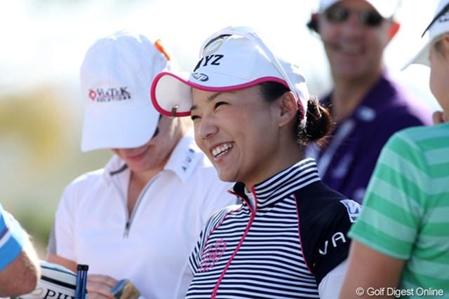 2013年 RRドネリー LPGA ファウンダーズカップ 最終日 有村智恵 「4日間で最終日がもっとも良かった」と語った。来週からの試合への弾みがついた。