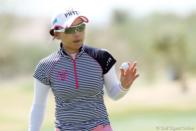2013年 RRドネリー LPGA ファウンダーズカップ 最終日 有村智恵 来週の試合も4日間大会。自身初となる2週連続の4日間大会出場に「体力が心配」との不安も。