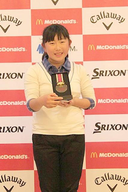 世界ジュニア日本代表選抜大会、関西・東海予選  トップ通過でメダルを手に笑顔の山辺