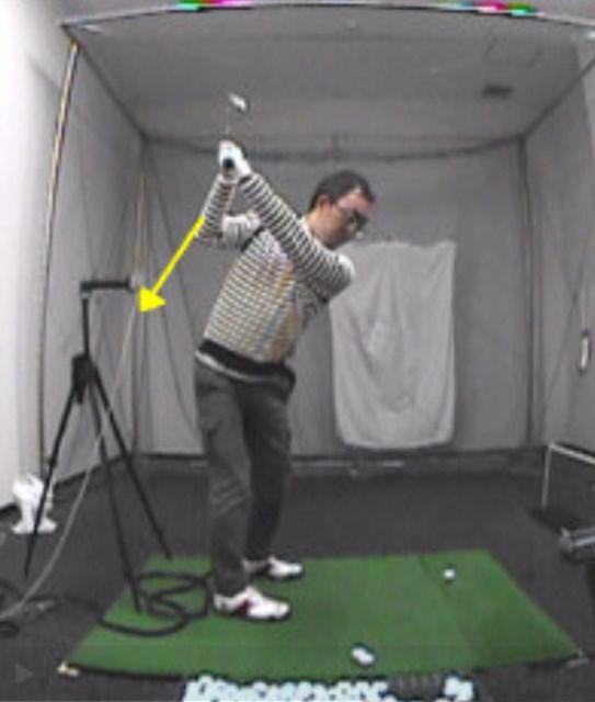 golftec インサイドアウトで振るためのトップを体感!4-1