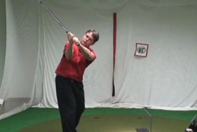 golftec インサイドアウトで振るためのトップを体感!4-3