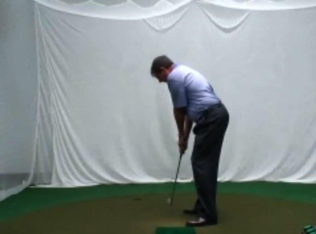 golftec インサイドアウトで振るためのトップを体感!5-1