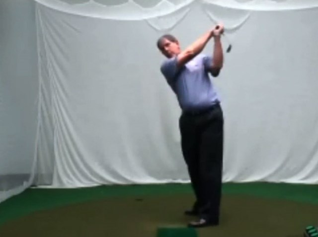 golftec インサイドアウトで振るためのトップを体感!5-2