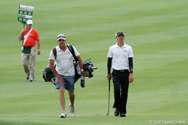 2013年 アーノルド・パーマーインビテーショナル 事前 石川遼 サイモン・クラーク 今大会が今年は初めてのタッグとなる。