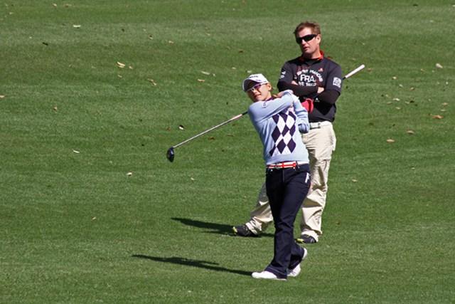 2013年 Tポイントレディスゴルフトーナメント 事前 横峯さくら シーズン唯一の地元で迎える一戦。多くの期待に最高の結果で応えられるか