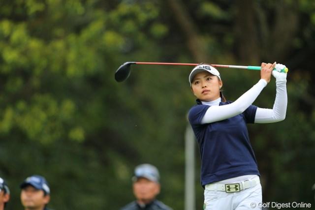 2013年 Tポイントレディスゴルフトーナメント 2日目 一ノ瀬優希 ショットが冴え、自己ベストの「64」で首位浮上! ツアー初勝利に王手をかけた一ノ瀬優希