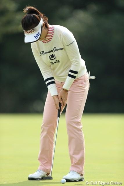 2013年 Tポイントレディスゴルフトーナメント 2日目 全美貞 ギリギリフレームに収まる全プロ。