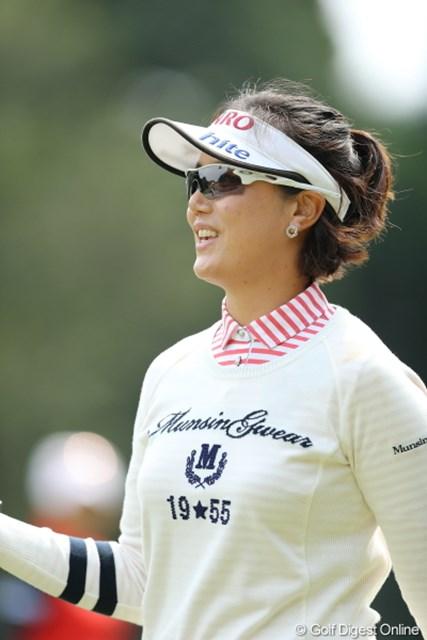 2013年 Tポイントレディスゴルフトーナメント 2日目 全美貞 以前よりだいぶ綺麗になって明るくなった気がする。