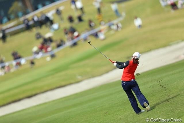 2013年 Tポイントレディスゴルフトーナメント 2日目 横峯さくら おんどりゃー!