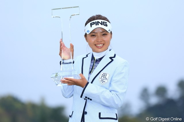 2013年 Tポイントレディスゴルフトーナメント 最終日 一ノ瀬優希 森田、全の追撃を振り切って初優勝を果たした一ノ瀬優希