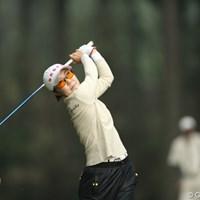 シン・ヒョンジュ/他にこの色眼鏡をかけている人を見た事がない。 2013年 Tポイントレディスゴルフトーナメント 最終日 辛ヒョンジュ