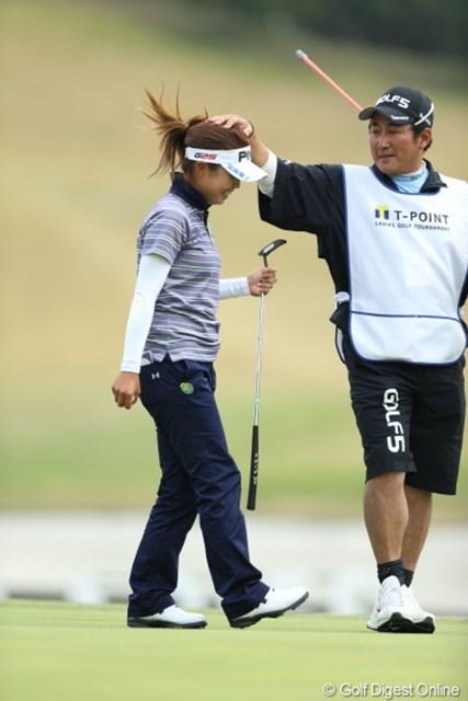 2013年 Tポイントレディスゴルフトーナメント 最終日 一ノ瀬優希 キャディも泣いちゃったよ。