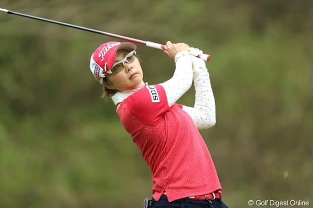 2013年 Tポイントレディスゴルフトーナメント 最終日 菊地絵理香 今週でなにか掴んだかな?今季は優勝も遠くないね。