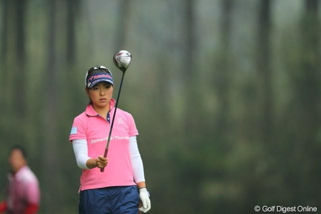 2013年 Tポイントレディスゴルフトーナメント 最終日 堀奈津佳 優勝したら人気でそうだな。