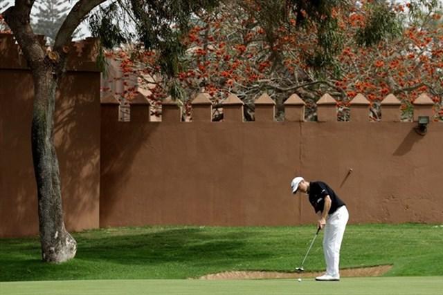 2013年 ハッサンII ゴルフトロフィー  事前情報 マイケル・ホーイ M.ホーイの大会連覇をかけた一戦が幕を開ける (Getty Images)
