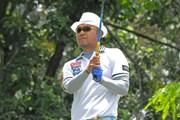 2013年 インドネシアPGA選手権 初日 片山晋呉