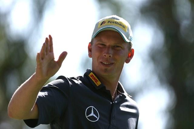 2013年 ハッサンII ゴルフトロフィー 初日 マルセル・シーム 最高のスタートを切ったM.シーム。「マスターズ」の出場資格を掴めるか(Getty Images)