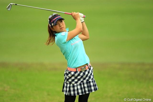 2013年 アクサレディスゴルフトーナメント in MIYAZAKI 初日 堀奈津佳 今週はサマンサガールズががんばってますね。