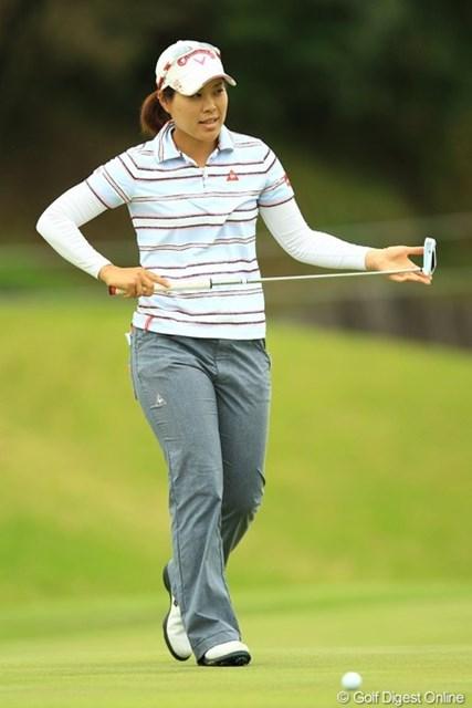 2013年 アクサレディスゴルフトーナメント in MIYAZAKI 初日 大谷奈千代 3アンダー10位タイと久しぶりの好スタートですね。