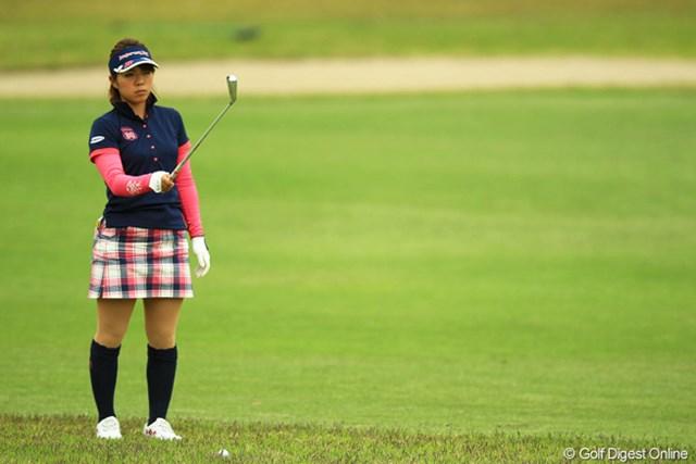 2013年 アクサレディスゴルフトーナメント in MIYAZAKI 初日 中村香織 QT上位で今季はほぼフル参戦ですが、開幕戦から安定してますね。今週は首位と2打差の10位タイと好スタートを切りました。