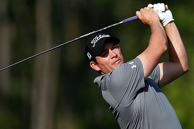 ゴルファーとして、パパとして。テキサスで奮闘中のS.ストーリングス(Getty Images)