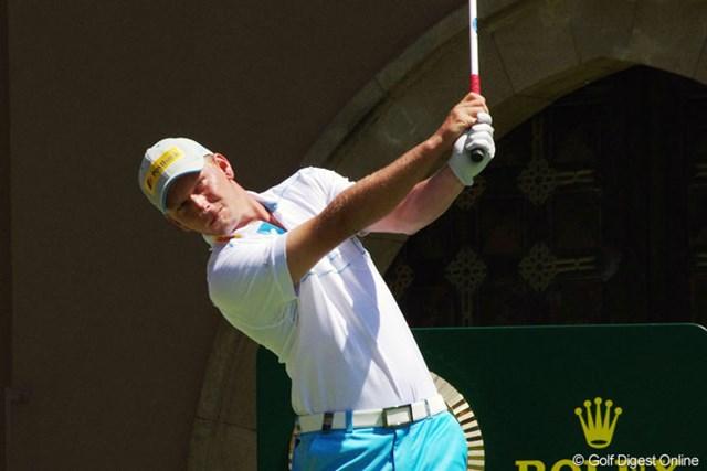 2013年 ハッサンIIゴルフトロフィー 3日目 マルセル・シーム 後続に4打差リードでツアー3勝目に王手をかけたM.シーム、マスターズ出場権獲得に望みを繋ぐ