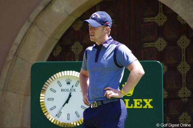 2013年 ハッサンIIゴルフトロフィー 3日目 デビッド・ホージー 同一大会2勝目を狙うD.ホージーが、4打差の逆転を狙う