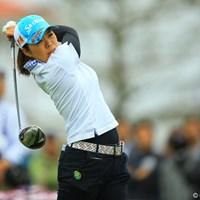 スコアを3つ伸ばし、自己ベストの5位タイフィニッシュです。 2013年 アクサレディスゴルフトーナメント in MIYAZAKI 最終日 西美貴子