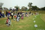 2013年 アクサレディスゴルフトーナメント in MIYAZAKI 最終日 練習場