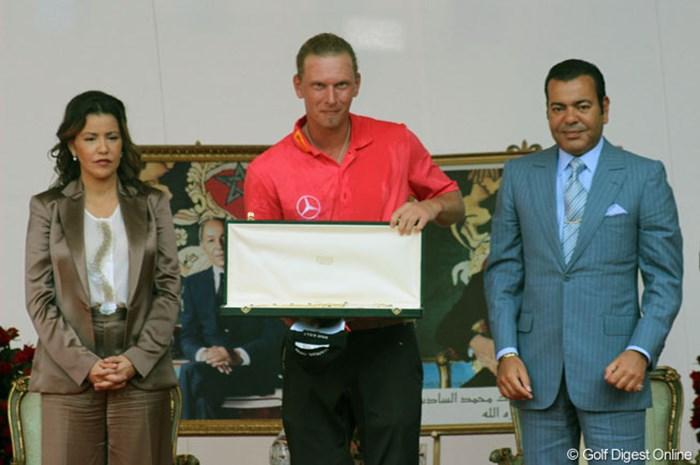 ツアー3勝目を飾ったM.シーム。初日から単独首位を堅守して完全勝利を挙げた 2013年 ハッサンIIゴルフトロフィー 最終日 マルセル・シーム