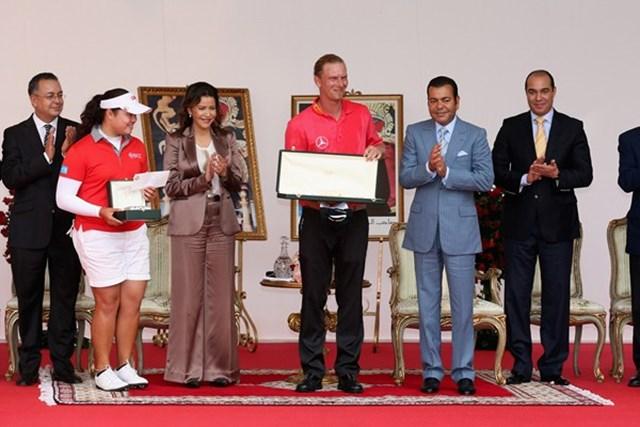 2013年 ハッサンII ゴルフトロフィー 最終日 マルセル・シーム 完全優勝を果たしたM.シーム。「マスターズ」行きのチケットの行方は・・・ (Getty Images)