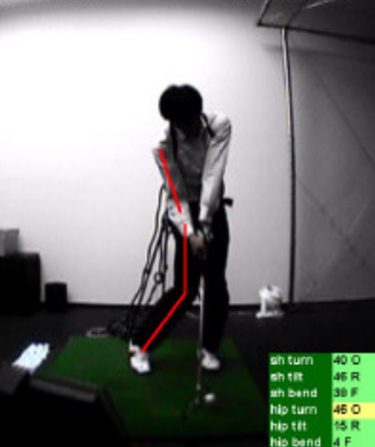 golftec すくい上げる体の動きを一発で改善!1-1