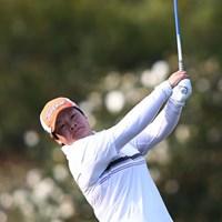 重量挙げからゴルフに転身。飛距離も規格外のパン・イエンホン 2013年 ヤマハレディースオープン葛城 2日目 パン・イエンホン
