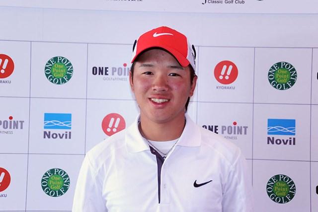 2013年 Novil Cup 初日 伊藤誠道 プロデビュー初日は1オーバー35位タイとなった伊藤誠道