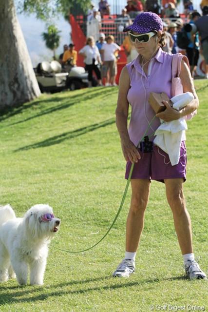 2013年 クラフトナビスコ選手権 最終日 飼い主似 犬は飼い主に似るといいますが、似てる?似せられてる?