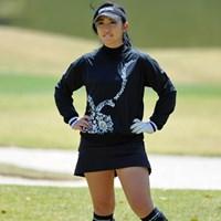 お約束のUPです。女子ゴルフ界の壇蜜と呼ばれてるとかいないとか。テストに合格して頑張って「女子プロ界の壇蜜」と呼ばれるようにね! 2013年 スタジオアリス女子オープン 2日目 宮田志乃