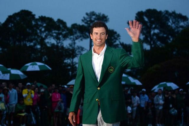 アダム・スコット/2013年マスターズ オーストラリア人として初のグリーンジャケットを獲得したアダム・スコット(Getty Images)