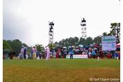2006年 LPGAツアーチャンピオンシップリコーカップ 3日目 最終組
