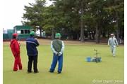 2006年 LPGAツアーチャンピオンシップリコーカップ 3日目 グリーンキーパー