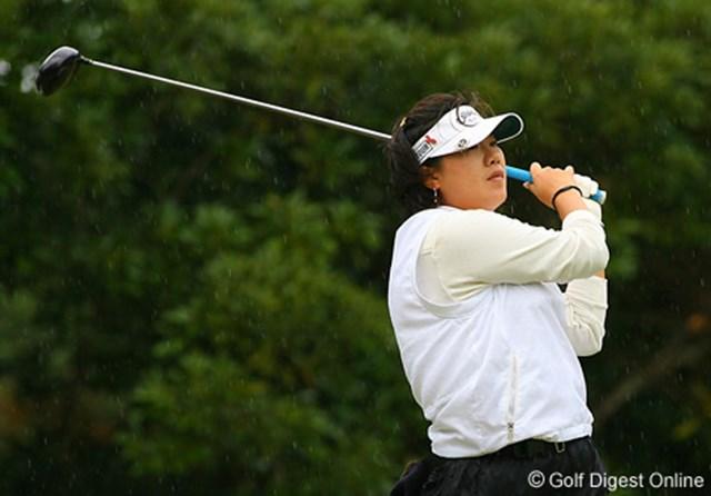 2006年 LPGAツアーチャンピオンシップリコーカップ 最終日 李定垠 最終日「68」でラウンド。2位タイに食い込んだ李定垠