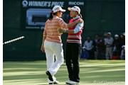 2006年 LPGAツアーチャンピオンシップリコーカップ 最終日 横峯さくら 諸見里しのぶ