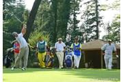2006年 日本オープンゴルフ選手権競技 初日 W.J.リー 小山内護 川岸良兼