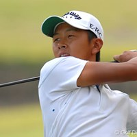 無名の岩田寛が2日目に3アンダーの「67」でラウンド。通算4アンダーで現在5位タイと大健闘中 2006年 日本オープンゴルフ選手権競技 2日目 岩田寛