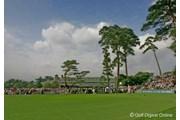 2006年 日本オープンゴルフ選手権競技 3日目 練習グリーン