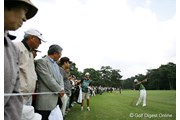 2006年 日本オープンゴルフ選手権競技 3日目 片山晋呉