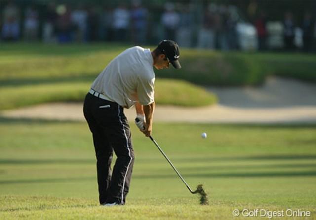 多少ラフに入れても確実にグリーンを捕らえる。ステディなゴルフで日本オープンを制したポール・シーハン