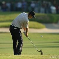 多少ラフに入れても確実にグリーンを捕らえる。ステディなゴルフで日本オープンを制したポール・シーハン 2006年 日本オープンゴルフ選手権競技 最終日 ポール・シーハン
