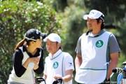 2013年 KKT杯バンテリンレディスオープン 初日 甲田良美&尾崎智春