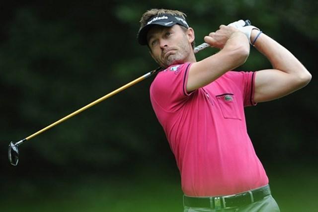 2013年 スペインオープン 2日目 ラファエル・ジャクリン 予選落ちの危機から一転。首位争いに名乗りを挙げたR.ジャクリン(Getty Images)